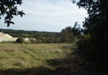 Land 1400 m² in quiet near Bagnols Uzès - Set Immo