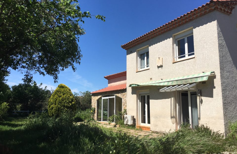 Villa 180 m² overlooking the Gardon - Set Immo