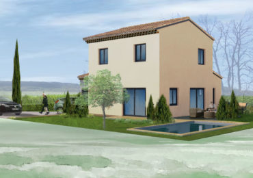 Villa 104 m² with kitchen offered, garage in secure residence a few minutes from the centre of Uzès - Set Immo